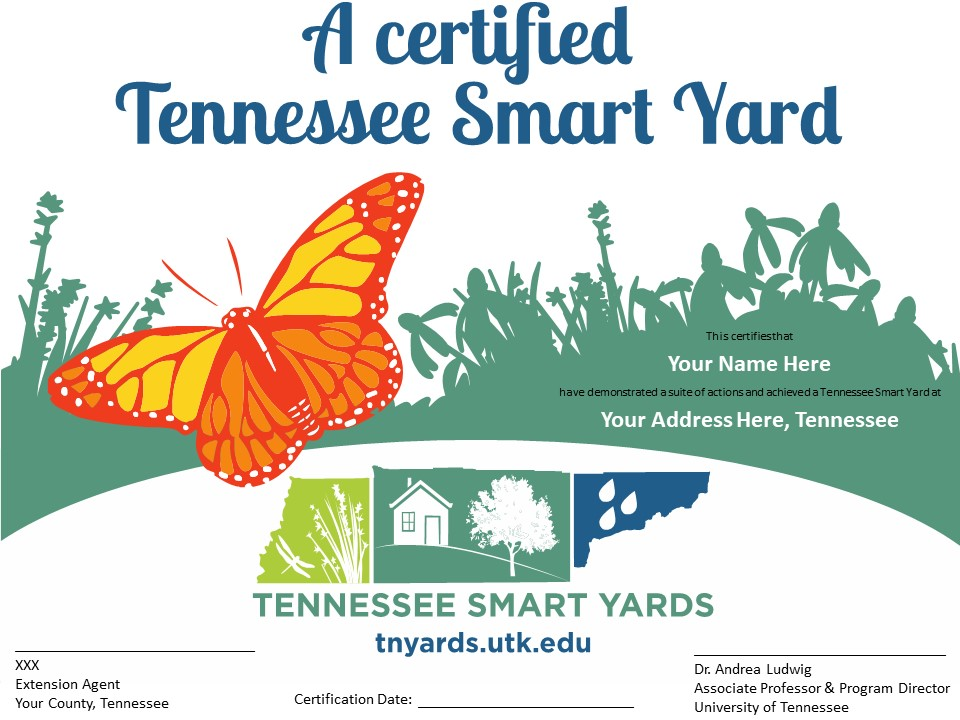 A Certified Tennessee Smart Yard Sign